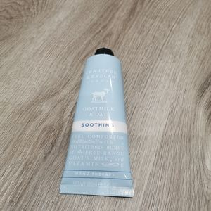 New Crabtree and evylin goatmilk and oat cream